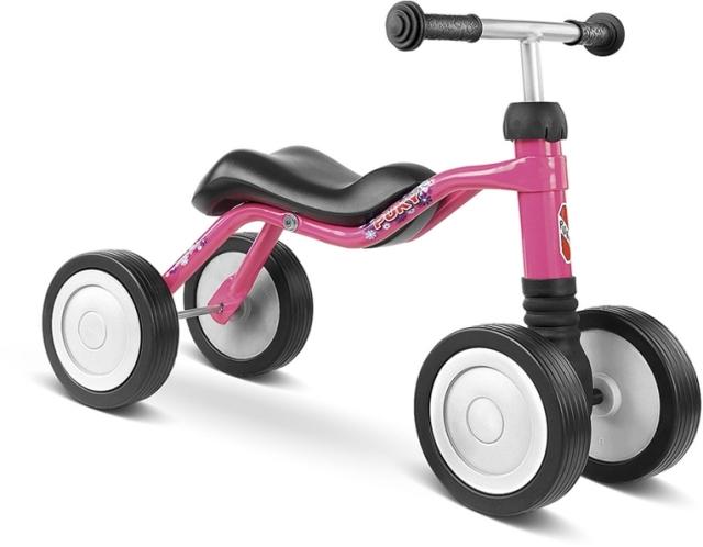 PUKY - Detské odrážadlo Wutsch - lovely pink
