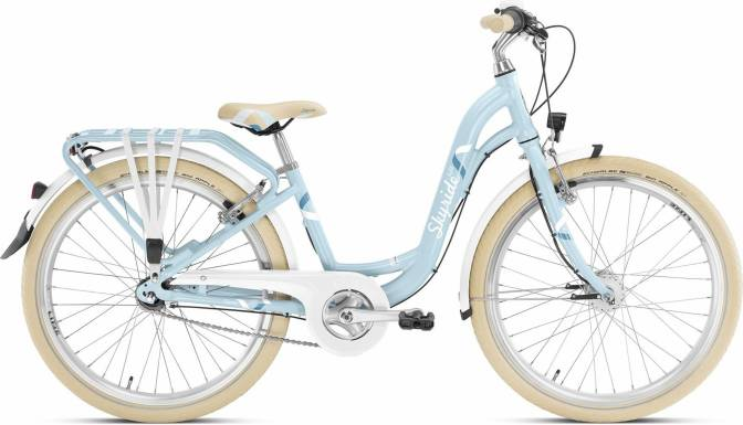 PUKY - detský bicykel SKYRIDE 24-7 Alu light Classic retromodrý