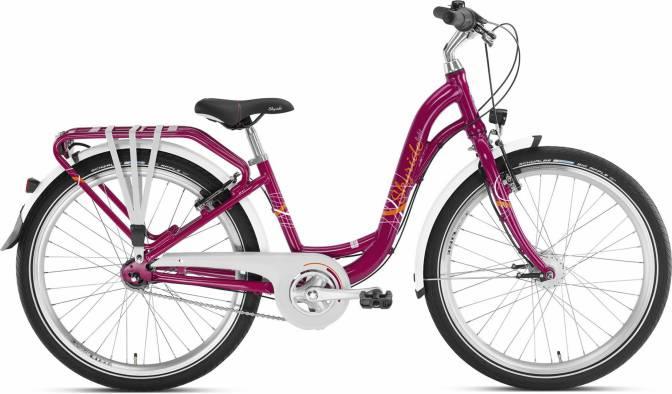 PUKY - detský bicykel SKYRIDE 27-4 Alu light berry
