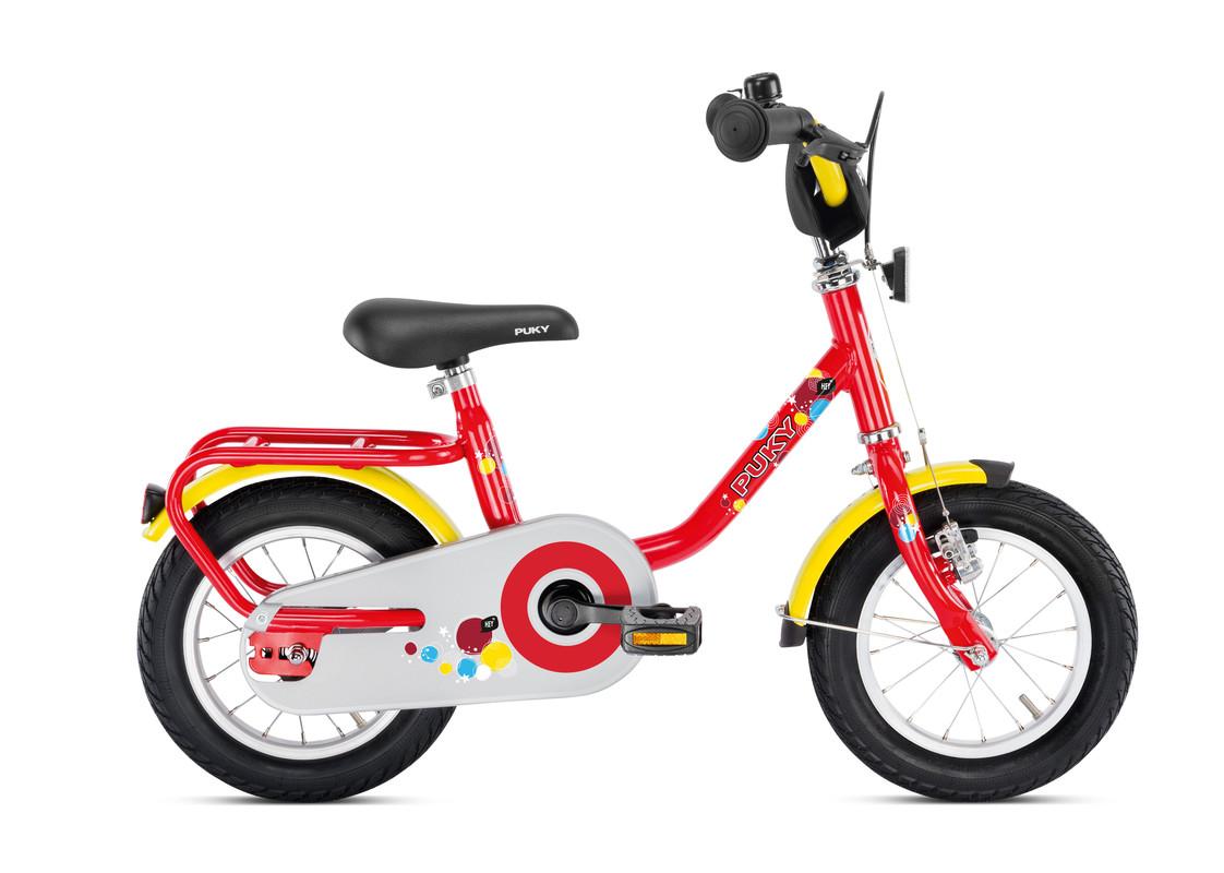 PUKY - Detský bicykel Z2 - červený 2019