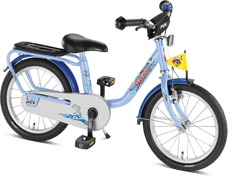 PUKY - Detský bicykel Z6 - oceánska modrá