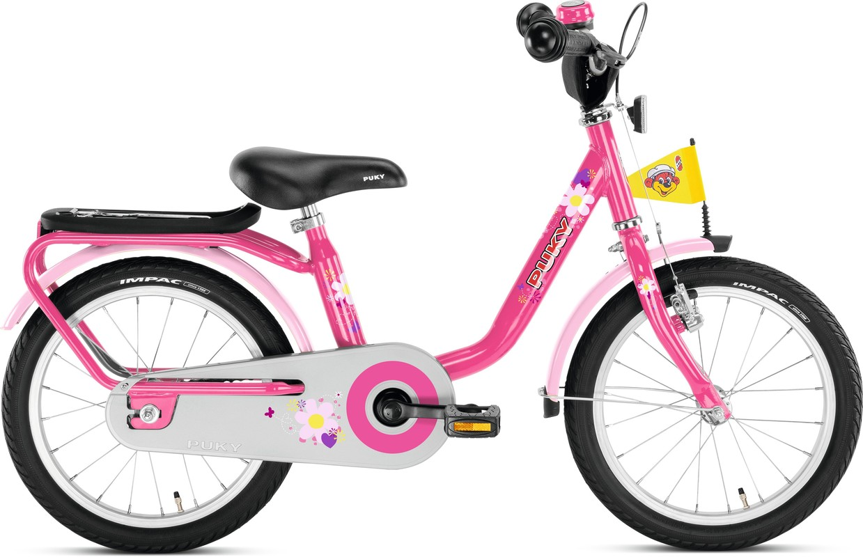 bd16d08a4 PUKY - Detský bicykel Z6 - ružový empty