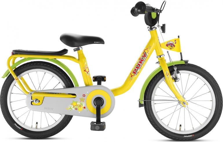 PUKY - Detský bicykel Z6 - žltý