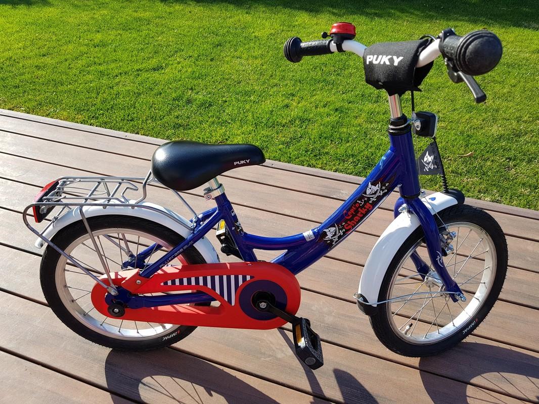 PUKY - Detský bicykel ZL 16 Alu - Kapitán Sharky bazár