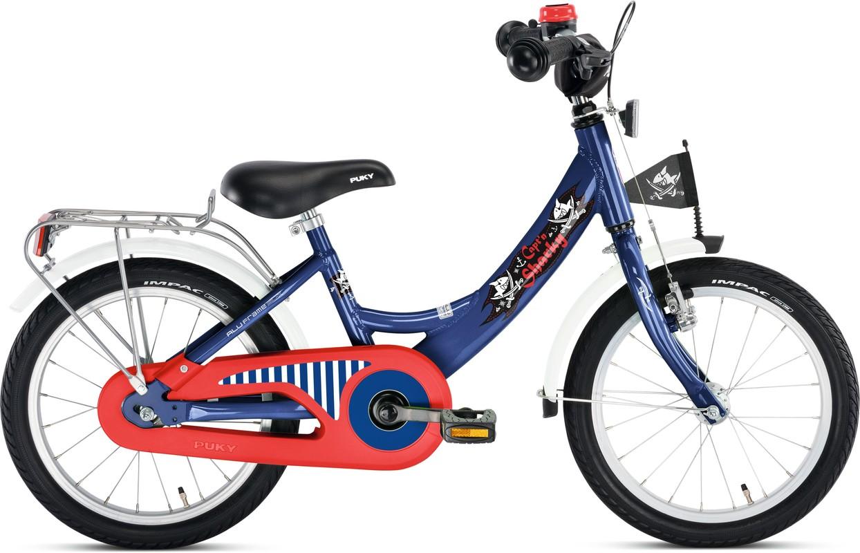 PUKY - Detský bicykel ZL 16 Alu - Kapitán Sharky