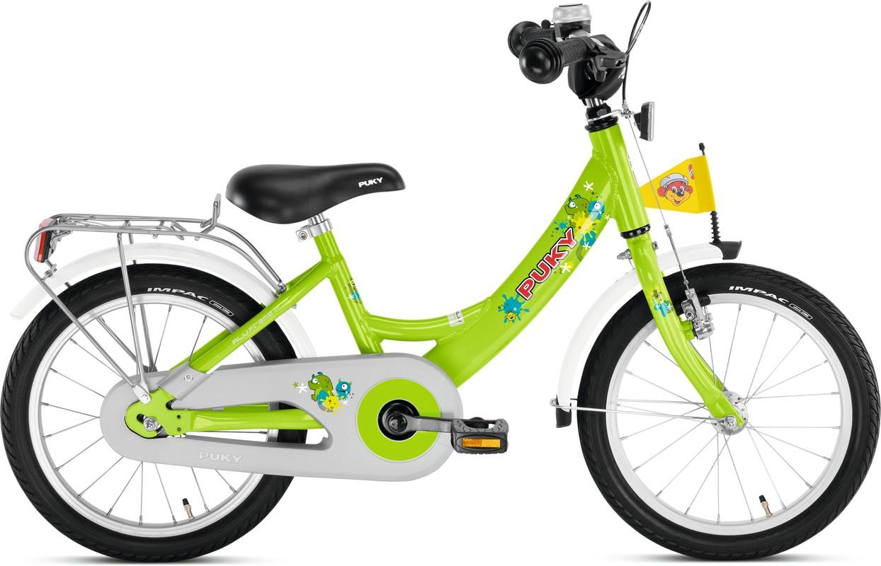 PUKY - Detský bicykel ZL 16 Alu - kiwi