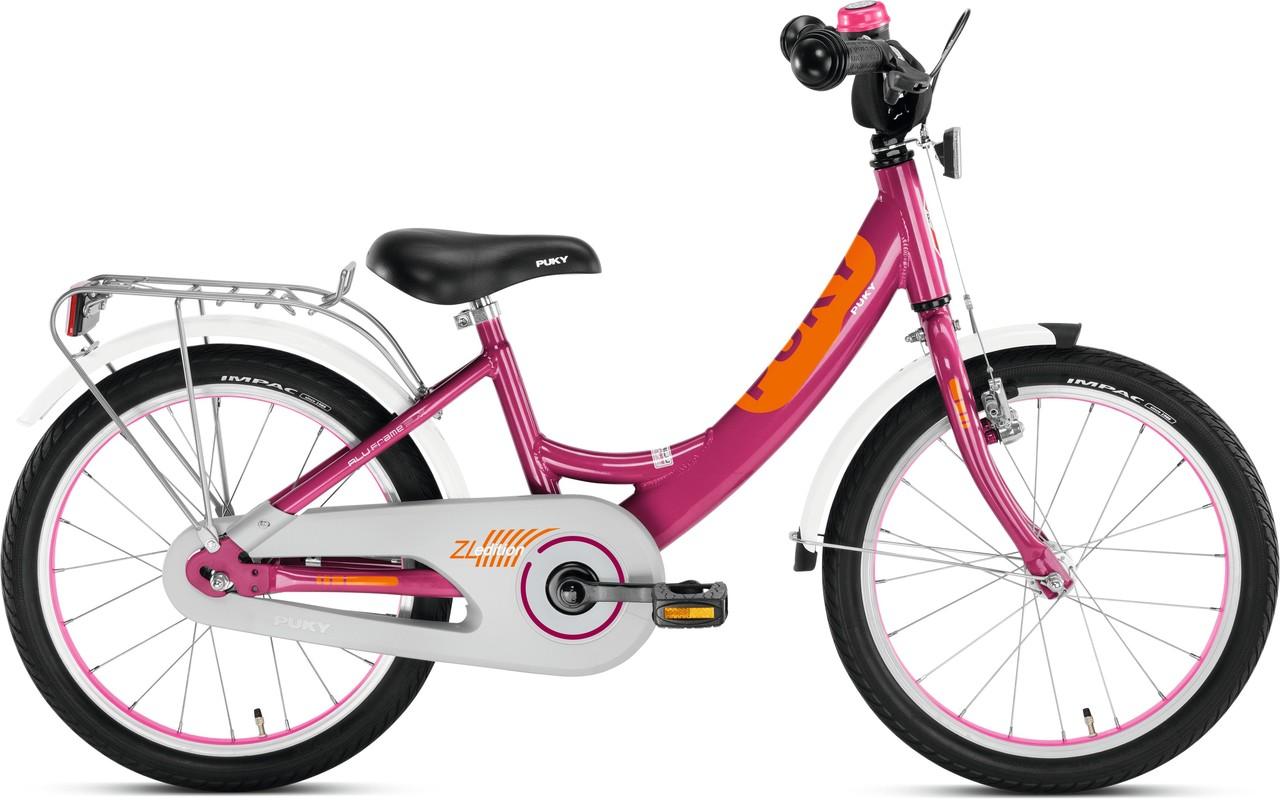 9e14684fb PUKY - Detský bicykel ZL 18 Alu Edition - berry empty