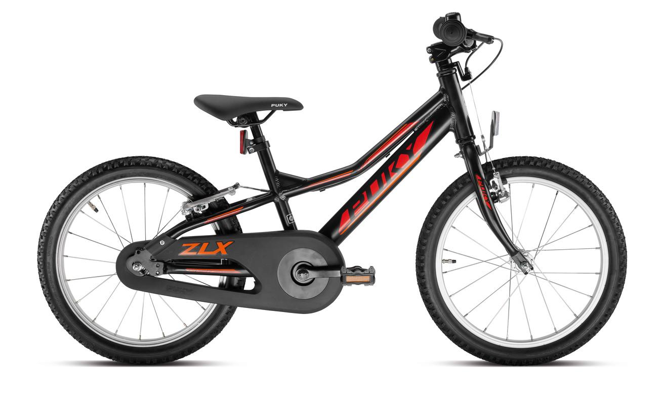 PUKY - Detský bicykel ZLX 18-1F Alu - čierny