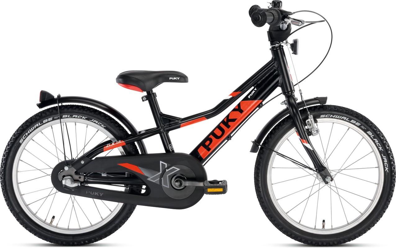 37541e1bc PUKY - Detský bicykel ZLX 18-3 Alu - čierny empty