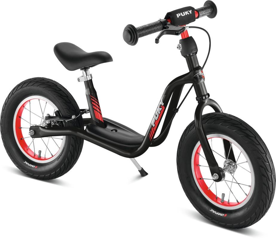 PUKY - Odrážadlo LR XL - čierna / červená