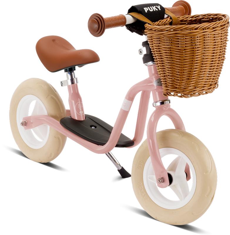 PUKY - odrážadlo LRM Classic - retro ružové