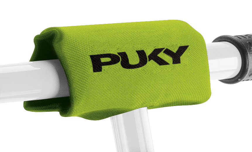 PUKY - Polstrovanie rukovätí pre malé detské vozidlá LP1 - kiwi