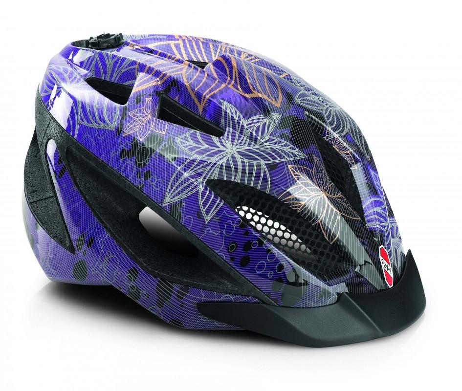 PUKY - Prilba - fialová M/L