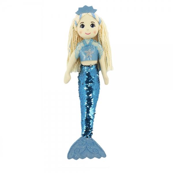 RAPPA - Handrová bábika morská panna plutvičky 45 cm