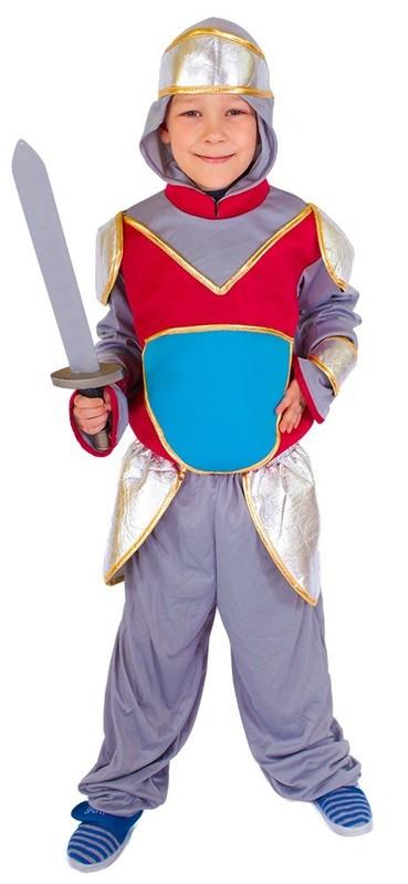 RAPPA - Karnevalový kostým Rytier s kapuckou S