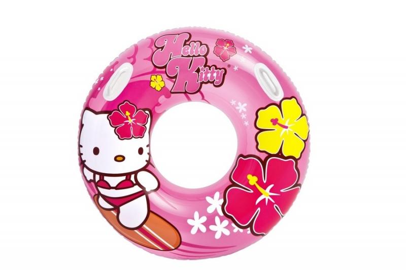 RAPPA - Nafukovacie koleso Hello Kitty, 97 cm