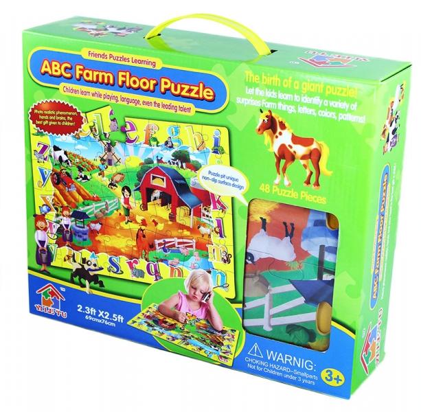 RAPPA - Puzzle 48 podlahové - zvieratá
