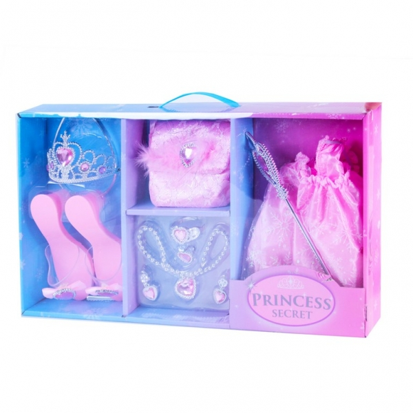 RAPPA - Sada princezná ružová 8 ks krabica