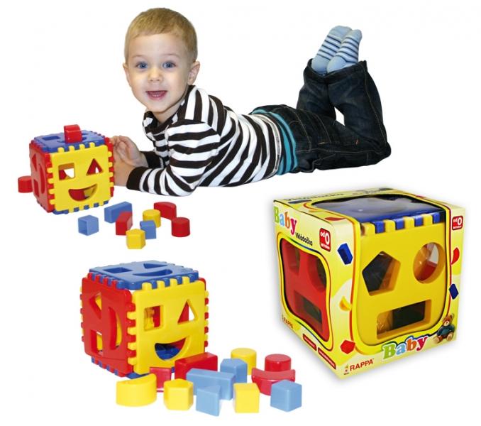 RAPPA - Vkladačka kocka pre najmenších