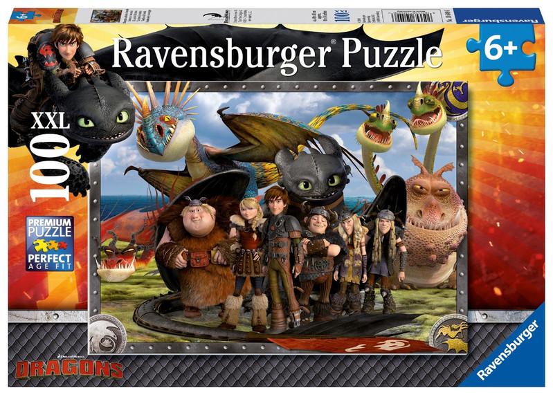 RAVENSBURGER - Ako si vycvičiť draka 2 100 dielikov