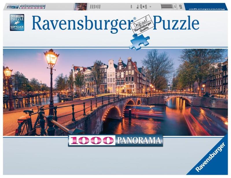 RAVENSBURGER - Amsterdam 1000 Dielikov Panoráma