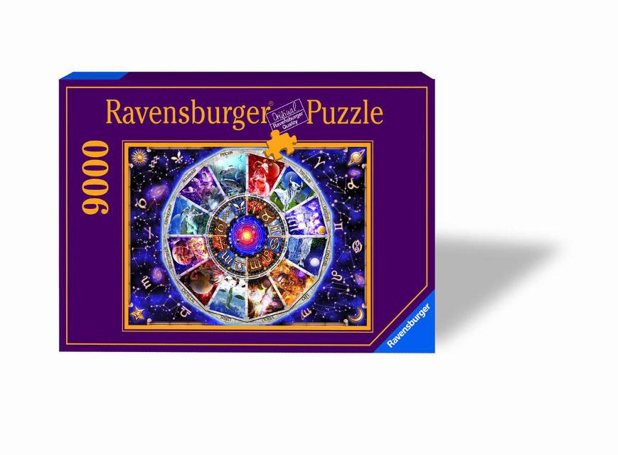 RAVENSBURGER - Astrológmi 9000 Dielikov