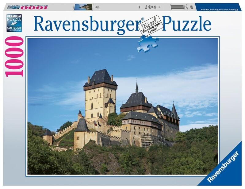 RAVENSBURGER - Česká Kolekcia: Karlštejn 1000 Dielikov