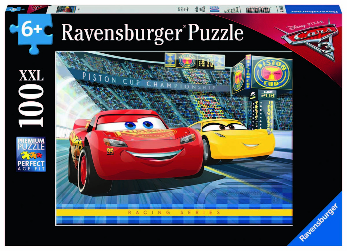 RAVENSBURGER - Disney Autá 3 100 dielikov