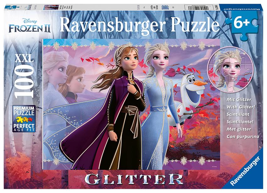 RAVENSBURGER - Disney Ľadové Kráľovstvo 2 100 Dielikov Trblietavé Puzzle