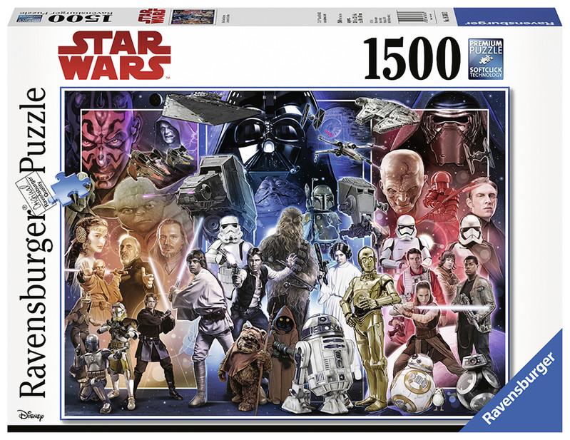 RAVENSBURGER - Disney: Vesmír Star Wars 1500 dielikov