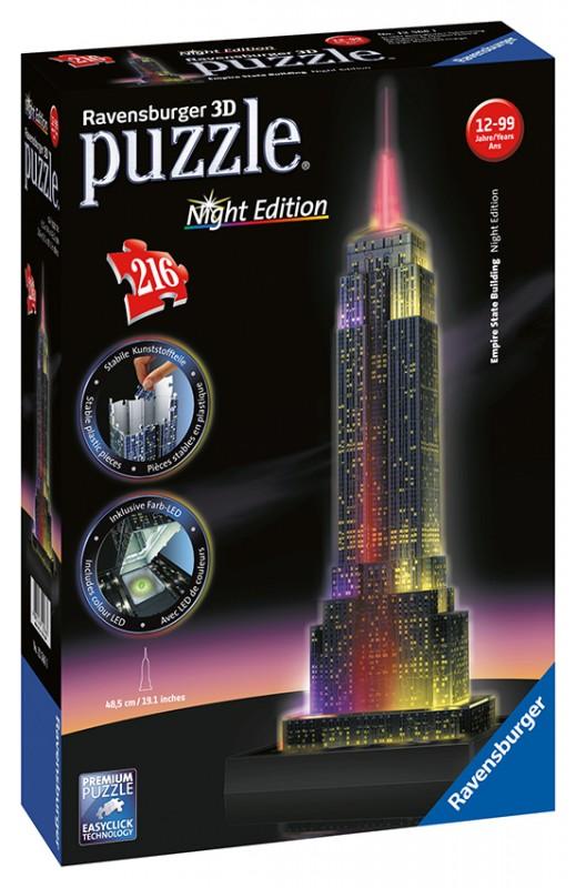 RAVENSBURGER - Empire State Building-Svietiaci 216P