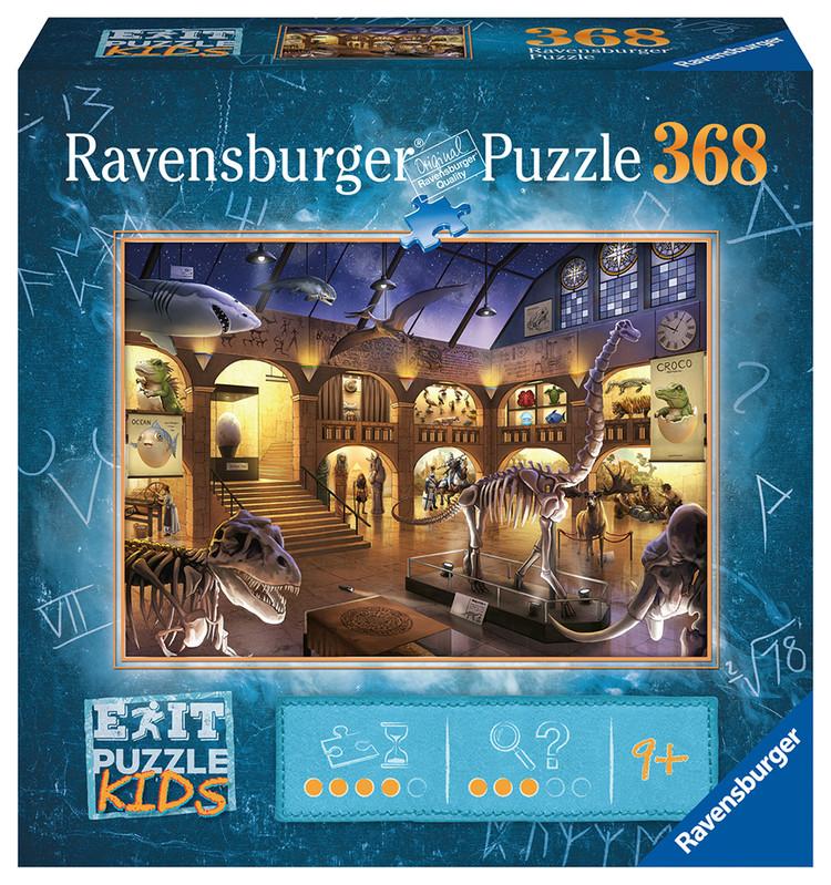 RAVENSBURGER - Exit KIDS Puzzle: Noc v múzeu 368 dielikov