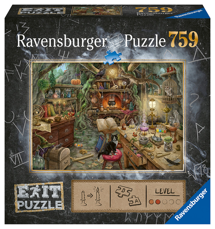 RAVENSBURGER - Exit Puzzle: Čarodejnícka kuchyne 759 dielikov