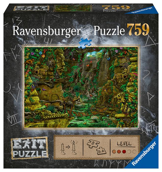 RAVENSBURGER - Exit Puzzle: Chrám v Ankor 759 dielikov