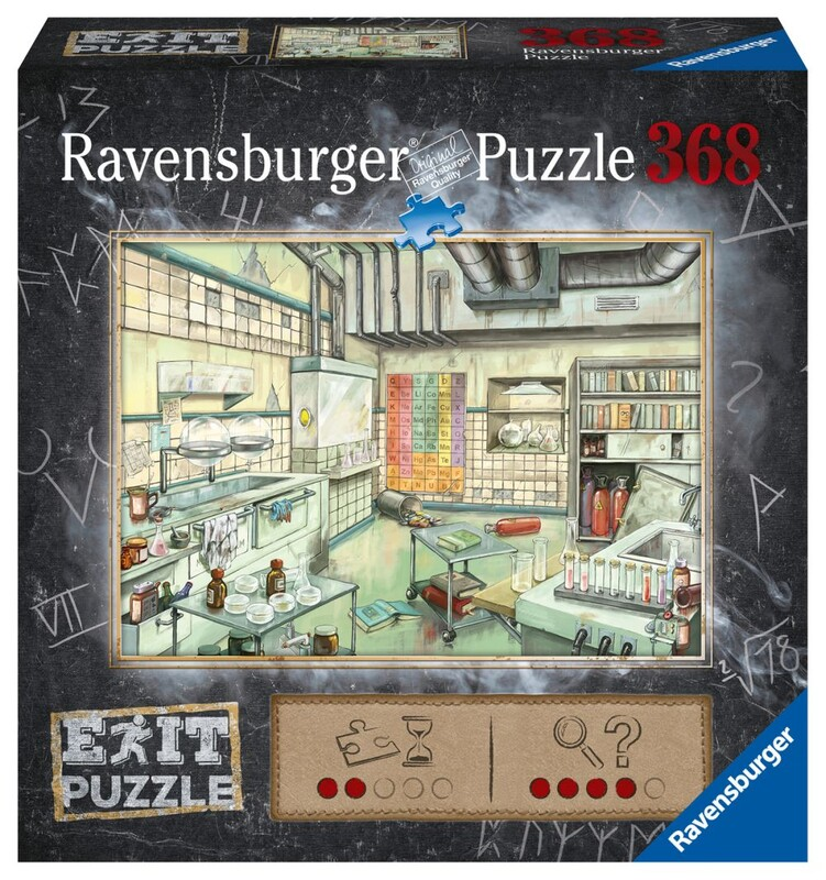 RAVENSBURGER - Exit Puzzle: Laboratória 368 Dielikov