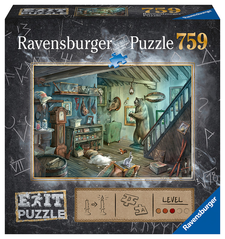 RAVENSBURGER - Exit Puzzle: Strašidelná pivnica 759 dielikov