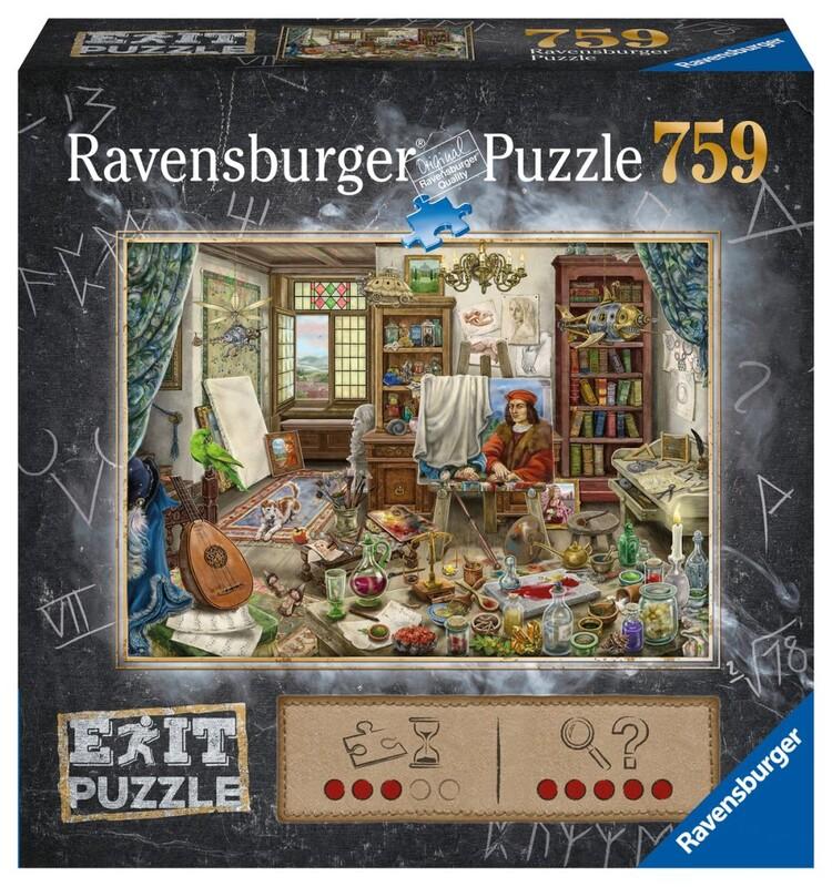 RAVENSBURGER - Exit Puzzle: Umelecké Štúdio 759 Dielikov