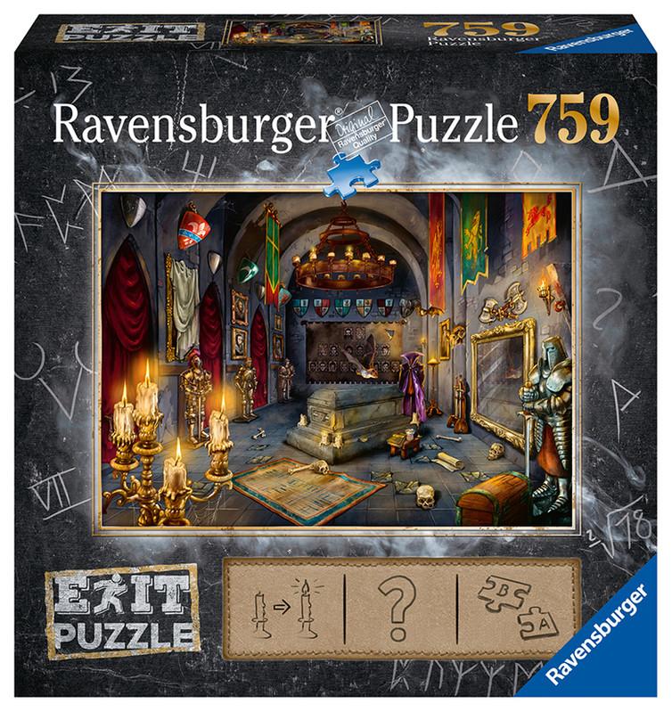 RAVENSBURGER - Exit Puzzle: Upírov hrad 759 dielikov
