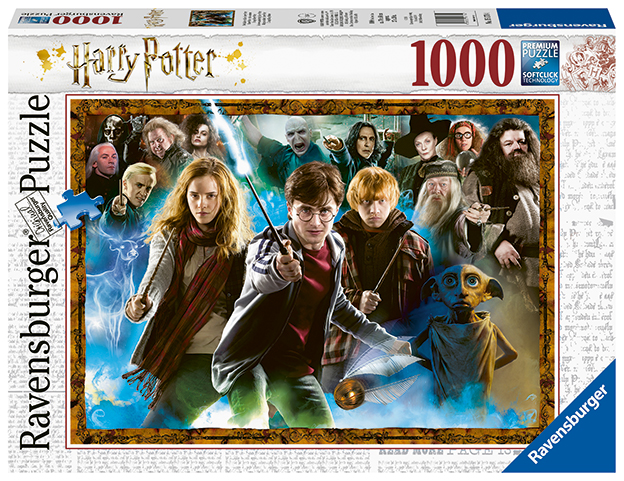 RAVENSBURGER - Harry Potter 1000 dielikov