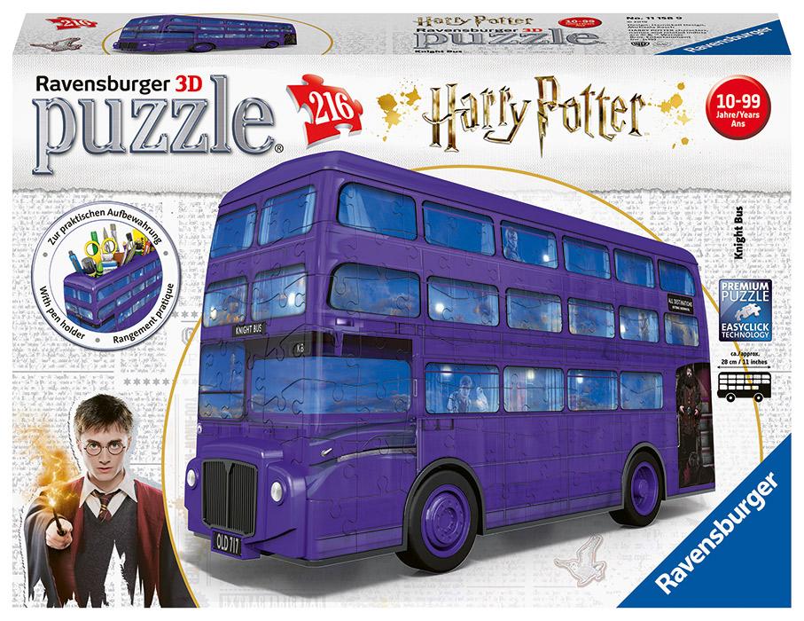 RAVENSBURGER - Harry Potter Rytiersky Autobus 216 Dielikov