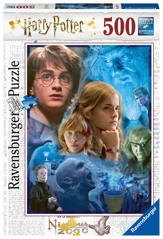 RAVENSBURGER - Harry Potter v Rokforte 500 dielikov