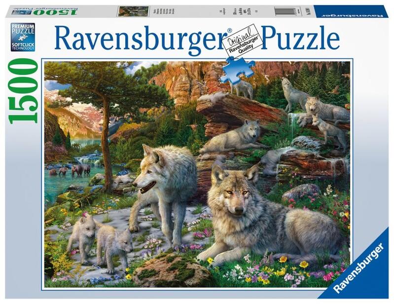RAVENSBURGER - Jarné Vlky 1500 Dielikov
