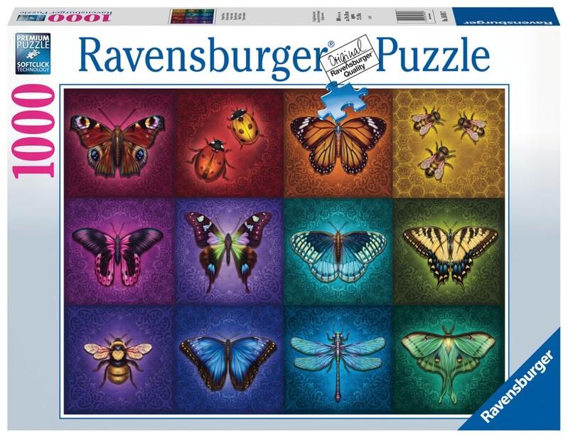 RAVENSBURGER - Krásne Okrídlené Veci 1000 Dielikov