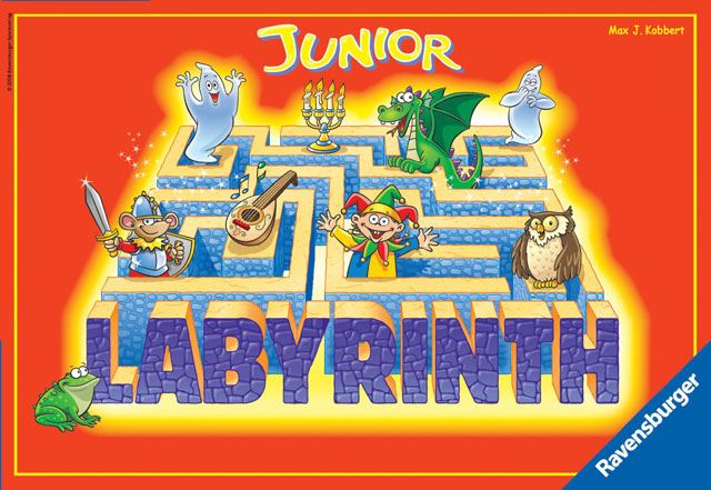 RAVENSBURGER - Labyrint Junior hra