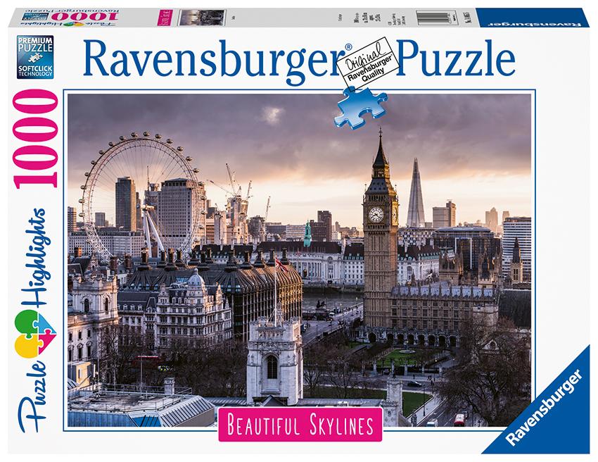 RAVENSBURGER - Londýn 1000 Dielikov