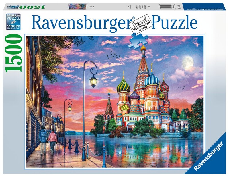 RAVENSBURGER - Moskva 1500 Dielikov