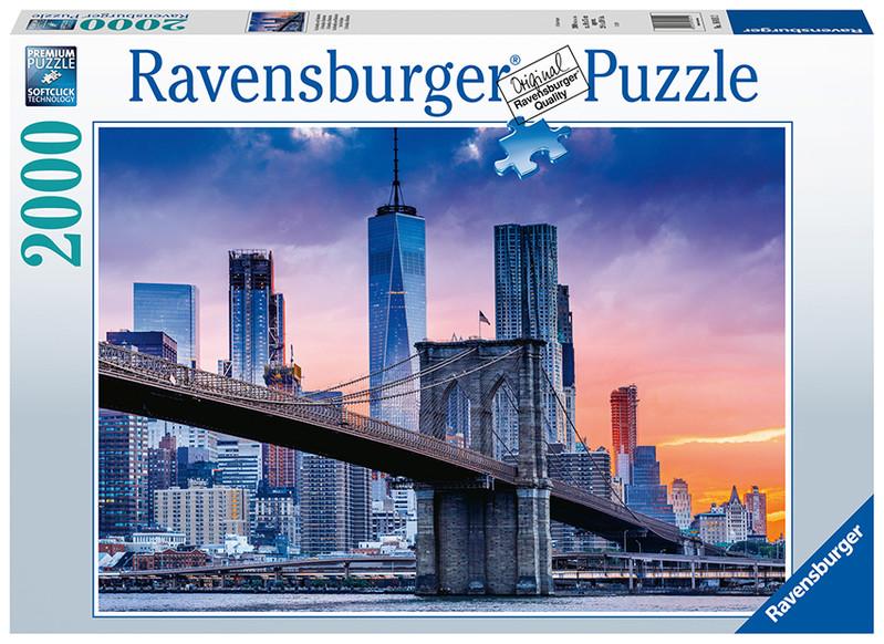 RAVENSBURGER - New York s mrakodrapmi 2000 dielikov