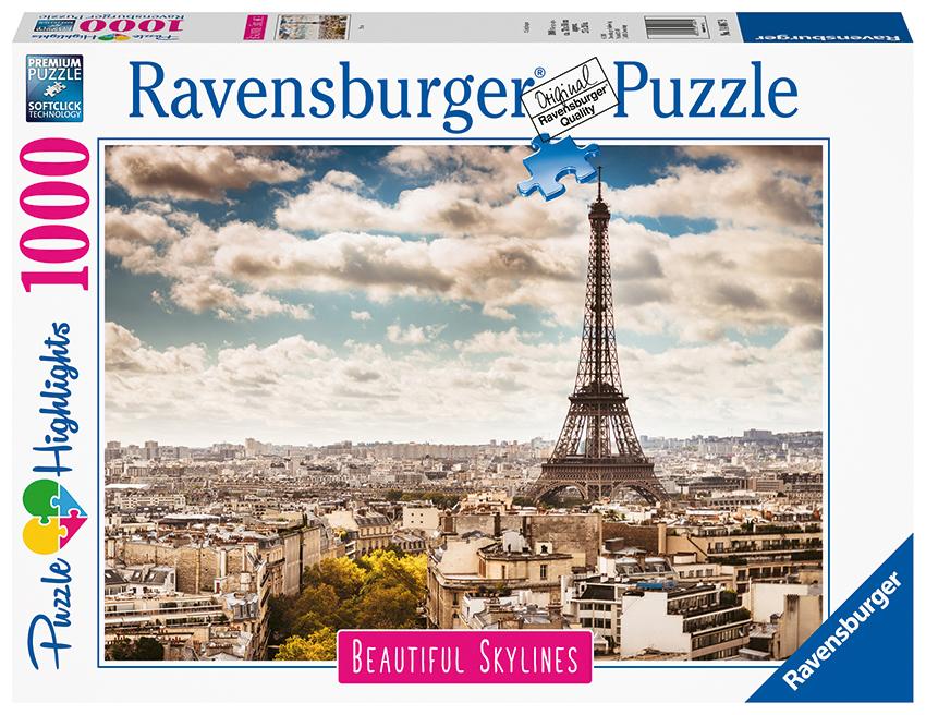 RAVENSBURGER - Paríž 1000 Dielikov