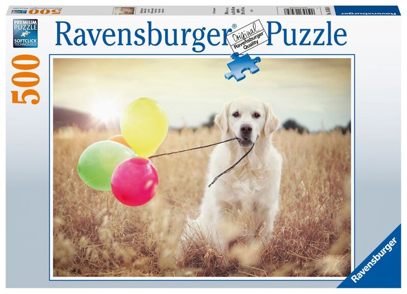 RAVENSBURGER - Pes 500 Dielikov
