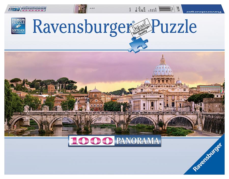 RAVENSBURGER - Rím, 1000 dielikov